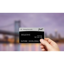 $31.50 for J'eat? Dining Rewards Card One Year Membership from J'eat? ($124.95 Value)