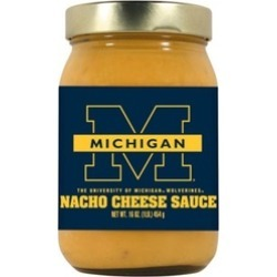 Hot Sauce Harrys 3310 MICHIGAN Wolverines Nacho Cheese Dip - 16 oz. found on Bargain Bro India from groupon for $11.71