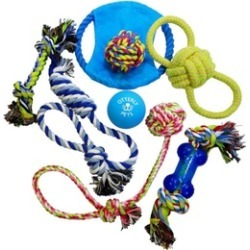 Otterly Pets Dog Toys (8-PACK)
