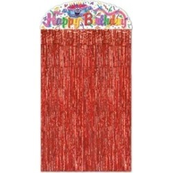 Beistle - 50425 - Birthday Cake Character Curtain- Pack of 12