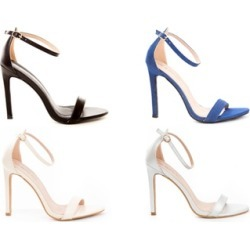 Women's Open Toe Ankle Strap Platform Casual Stiletto Pump Sandals