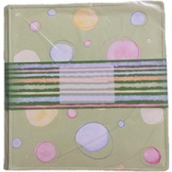 Ideal Light Green with Different Colors of Dots Album for Memory