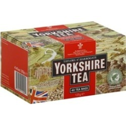YORKSHIRE TEA YORKSHIRE RED-40 BG -Pack of 5 found on Bargain Bro India from groupon for $44.43