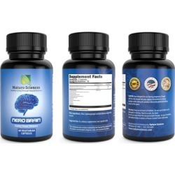 Naturo Sciences Nero Brain Vegetarian Nootropic Supplement (60-Count)