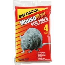 Enforcer MM-4 Mouse Glue Trap - 4 Pack
