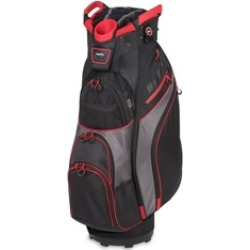 Bag Boy BB36106 Chiller Cart Golf Bag - Black, Charcoal & Red