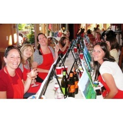 $28.50 for a Painting Event with a Glass of Wine from Corks and Canvas Events Seattle ($45 Value)
