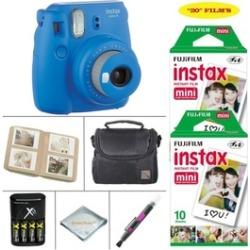 Fujifilm Instax Mini 9 Camera plus 20 Instant Film SHEETS plus Accessories