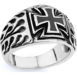 Iron Cross Ring w  Flames
