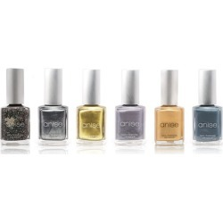 Runway Glamour Nail Polish Sets with Shimmer and Glitter (4-Pack) found on MODAPINS from groupon for USD $8.99