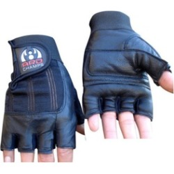 Fitness Leather Weight Lifting Gloves Padded Gym Body Building Fitness