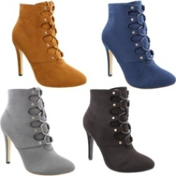 Moca Women's Lace Up Ankle Booties