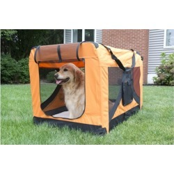 Crate for Pets with Fleece Mat title=