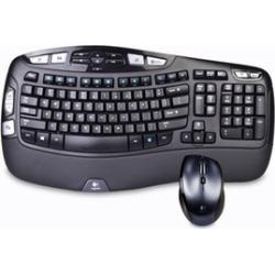Logitech MK570 Wireless Keyboard and Mouse Set: (Refurbished)