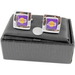 Sports Team Logo NBA Square Cufflinks Gift Box Set