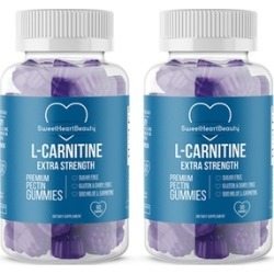 SweetHeartBeauty Premium L-Carnitine Diet Gummies (1- or 2-Pack)