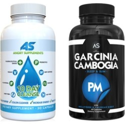 Angry Supplements 10-Day Cleanse and Garcinia Cambogia PM (2-Pack)