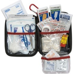Lifeline Large Hard Shell Foam First Aid Kit 85 Pieces found on Bargain Bro India from groupon for $19.99