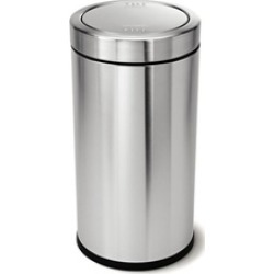 Stainless Steel 14.5 Gallon Swing Top Trash Can