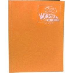 Monster Binders 4PMOR Binder 4 Pocket Monster - Matte Orange