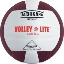 Tachikara SVMNC. CDW Volley-Lite Game Ball - Cardinal-White