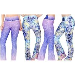 Luna Jai Flared Yoga Pants- Made in the USA 2 Packs Ljsflare2
