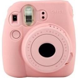 Pink Noctilucent Camera Case Skin Cover For FUJIFILM Instax Mini8 Mini8s