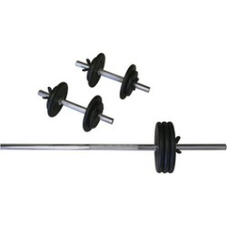 Amber Sporting Goods RS-160 Regular 160lb Weight Set