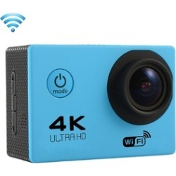 4K Ultra HD 1080P Sports Action Camera 170 Degree Wide Angle, Case & WIFI