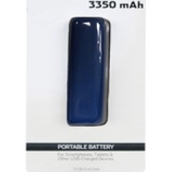 3350 mah Power Bank with LED Battery Percentage