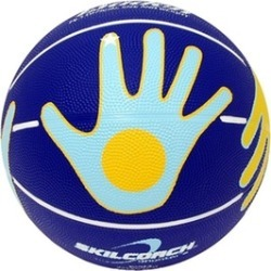 Baden BHND6-02-F SkilCoach Official Shooter Rubber Basketball Size 28.5 in.