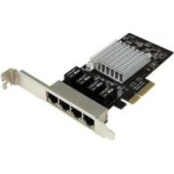 StarTech ST4000SPEXI 4-Port Gigabit Ethernet Network Card