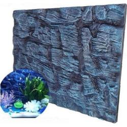 Aquatic Creations Rocks Aquarium 3D Foam Fish Tank Background