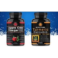 Angry Supplements Apple Cider Vinegar Supplements (120-Ct.)