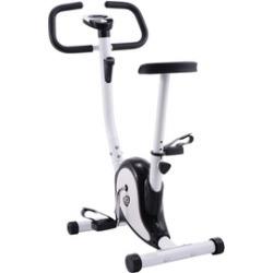 Black Exercise Bike Stationary Cycling Fitness Cardio Aerobic