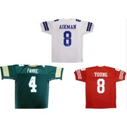 Retired NFL Player Autographed Jerseys