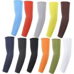 Cycling Cooling Arm Sleeves Cover UV Sun Protection Basketball
