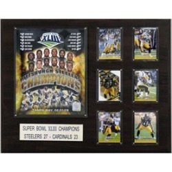 C & I Collectables 1620SB43 NFL Pittsburgh Steelers Super Bowl XLIII Champions