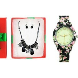 Fashion Watches With Free Jewelry as a Gift