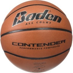 Baden B301-07-F4 Contender Official Wide Channel Basketball