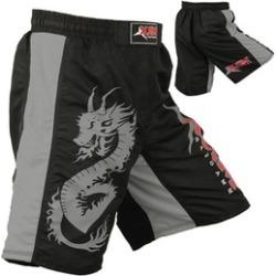 Sporting Goods Dragon Short Grappling Shorts Fighter Cage Boxing Kick