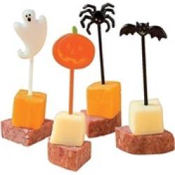 72 Plastic Halloween Food Picks