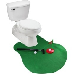 Funny Potty Putter Toilet Time Golf Game