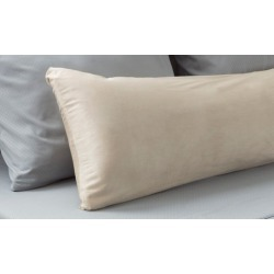 Micro-Suede Body Pillow Cover by Lavish Home
