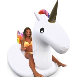 Unicorn Pool & Lake Float (2-Pack) Large Inflatable Tube