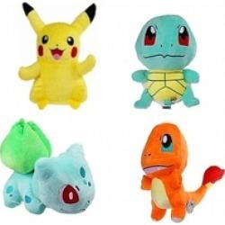Pokemon Pikachu Bulbasaur Squirtle Charmander Plush Toy Stuffed Doll
