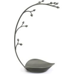 Metal Jewelry Tree  Gunmetal Gray