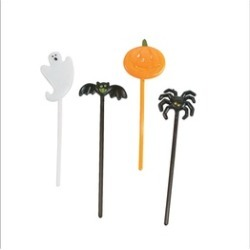 144 Pieces Halloween Appetizer Picks and Spider Ring Cupcake Toppers