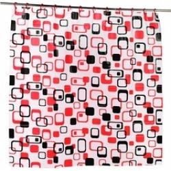 Carnation Home Fashions SCPEVA-HK-ELI Elite Peva Shower Curtain