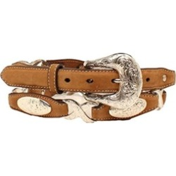 Ariat A1520801-M 1 in. Womens 1 in. Cluster Crystall Rhinestone Belt,